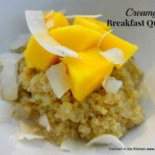 Creamy Breakfast Quinoa