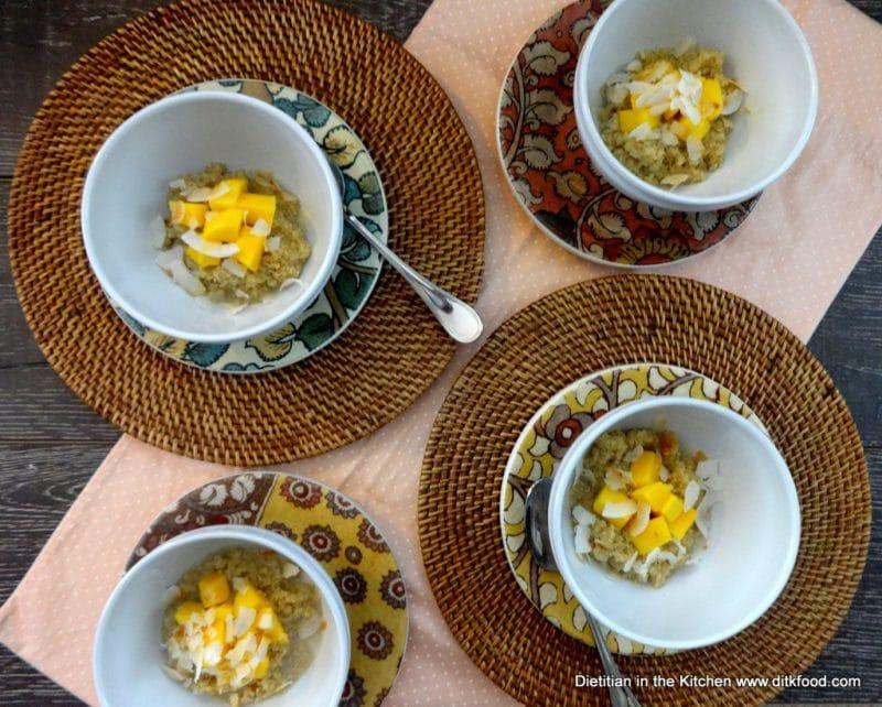 Plated Breakfast Quinoa