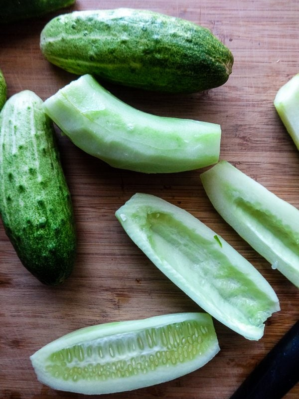 Garden Fresh Cucumbers