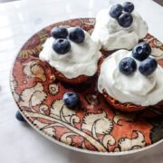 Toasted Granola Cups with Yogurt and Fruit