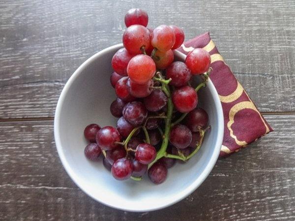Fresh, seasonal grapes