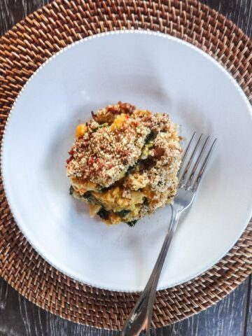Butternut Mac N' Cheese with Bacon Breadcrumbs