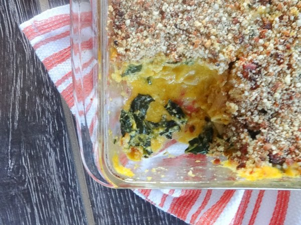 Butternut Mac N' Cheese with Kale