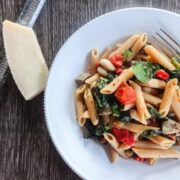 Tuscan Penne with Fresh Parmesan