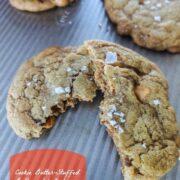 Cookie Butter Butterscotch Cookies