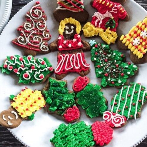 Gingerbread cutouts