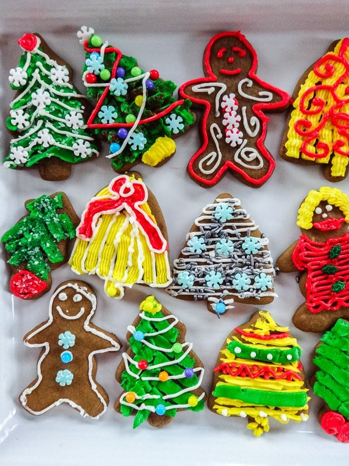Gingerbread Cutouts are a fun and festive addition to any cookie tray! From www.sweetcayenne.com