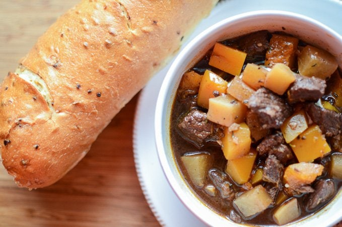 Beef and Root Vegetable Stew www.sweetcayenne.com