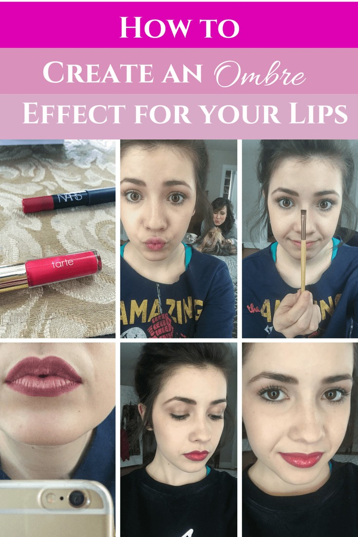 How to Create an Ombre Effect for your Lips