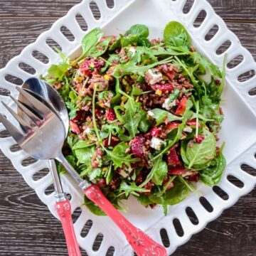 Strawberry Wild Rice Salad