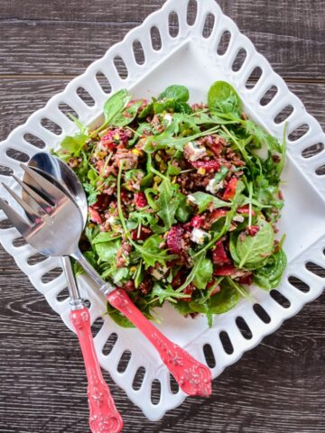 Strawberry Wild Rice Salad