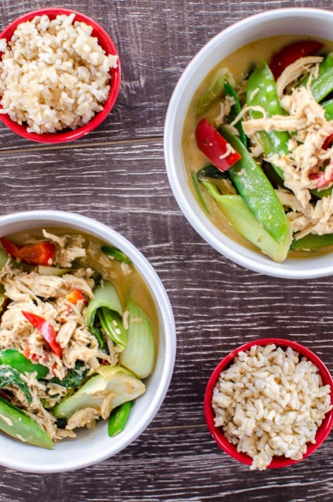 Easy 30-Minute Green Curry - www.sweetcayenne.com