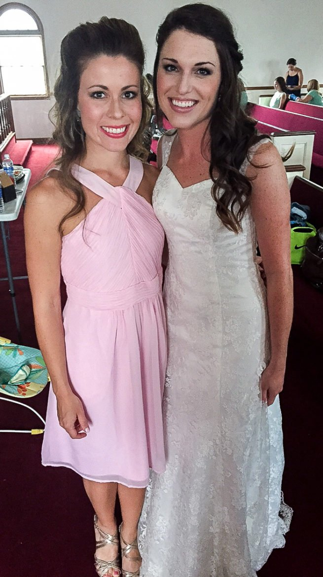 Me and the beautiful bride!