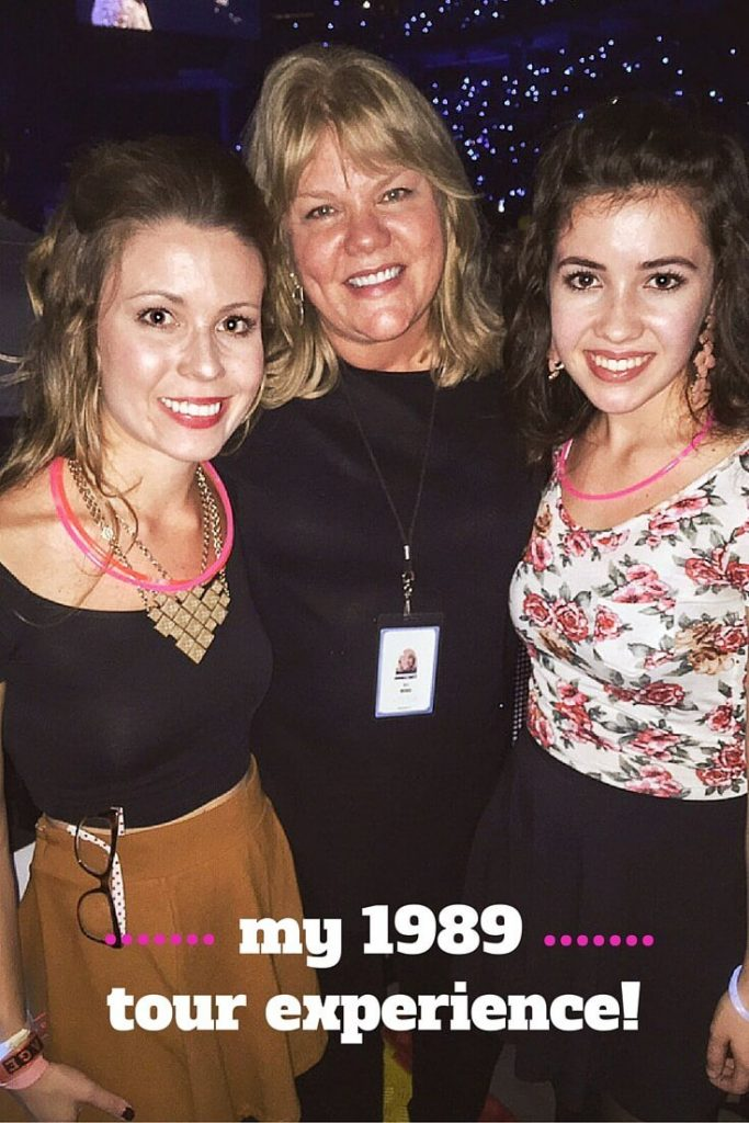 My experience at the Taylor Swift 1989 concert!