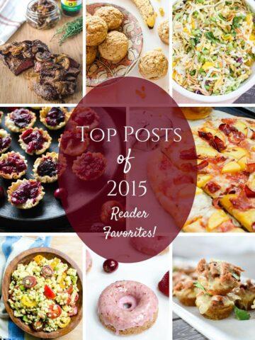 Top recipe posts of 2015 - reader favorites!