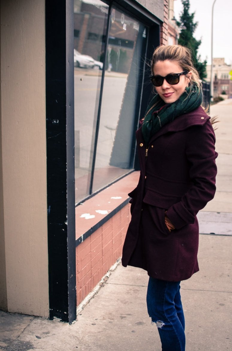 A Chilly Stroll Downtown + My Favorite Winter Coat