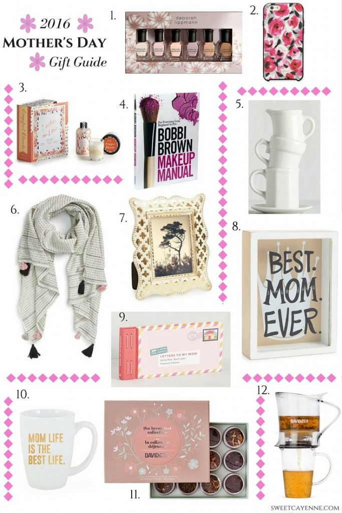 2016 Mother's Day Gift Guide – Ideas Under $50!