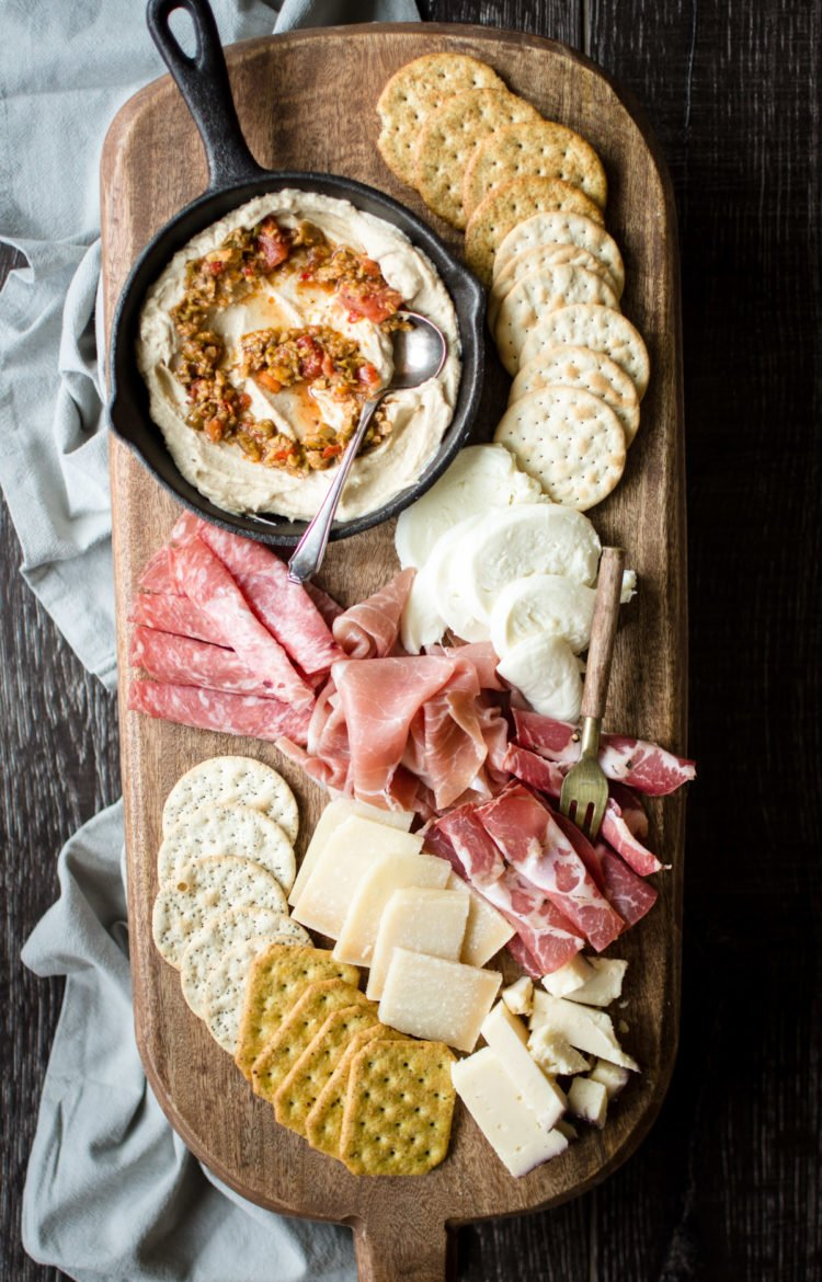 "Whitney shares her tips for making the ultimate ""no cook"" antipasto platter to wow your guests with minimal work!"