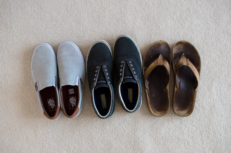 Shoe recommendations for guys during a 10 day trip to Europe