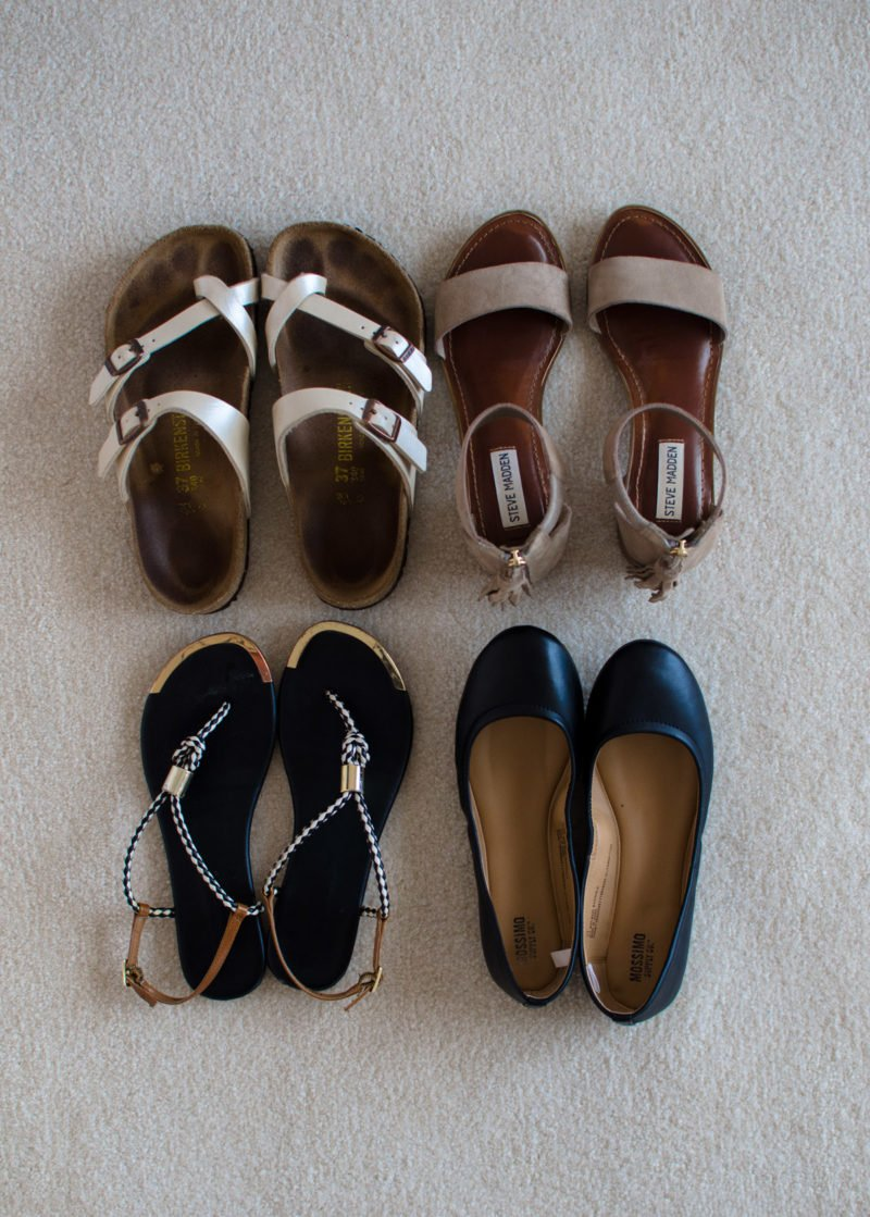 Shoe recommendations for girls during a 10 day trip to Europe.