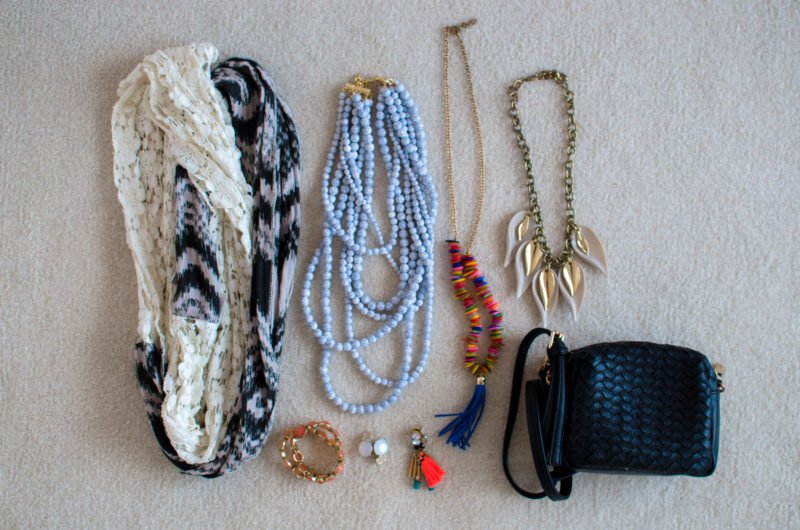 Accessory recommendations for girls on a 10 day trip to Europe.