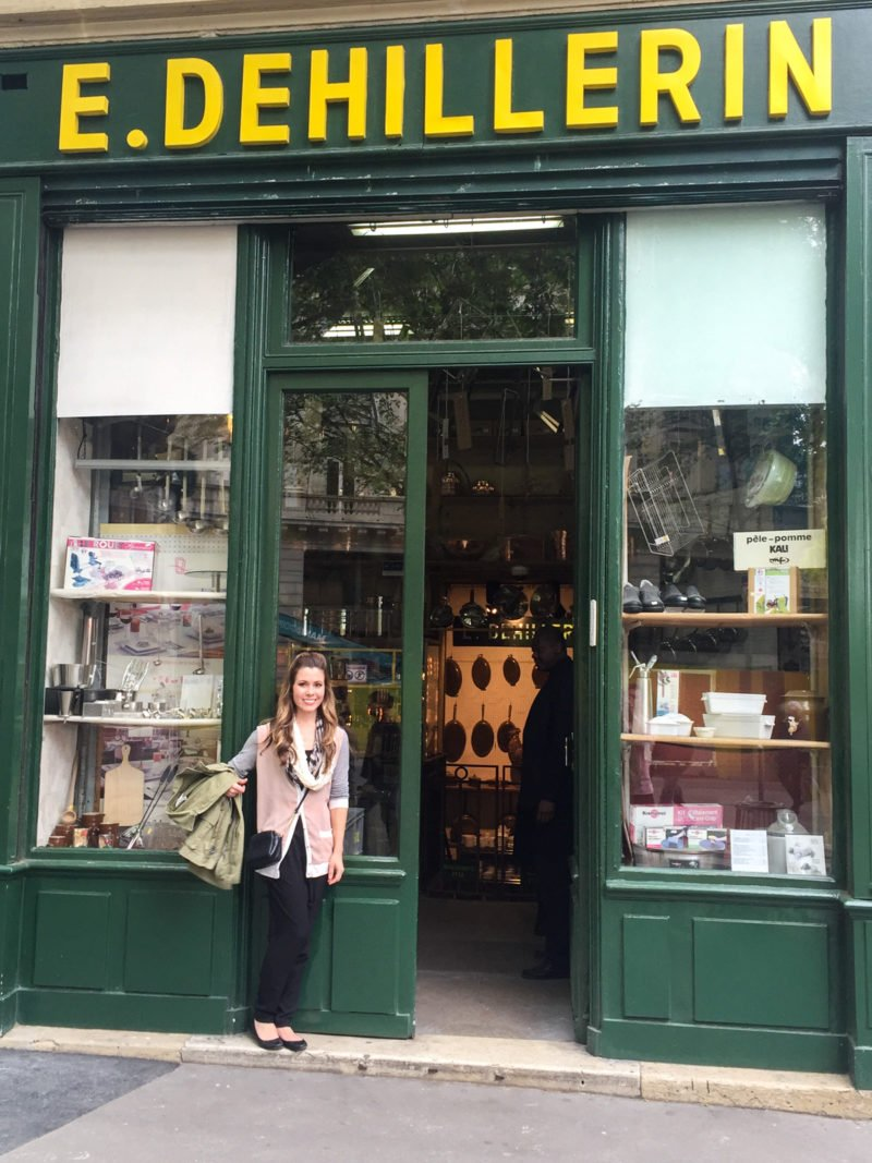 The famous E. Dehillerin kitchen store in Paris, France