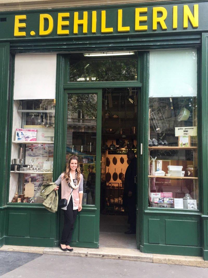 The famous E. Dehillerin kitchen store in Paris, France