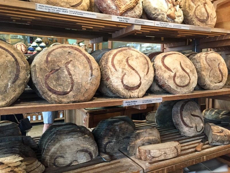 The famous Poilane bakery in Paris, France