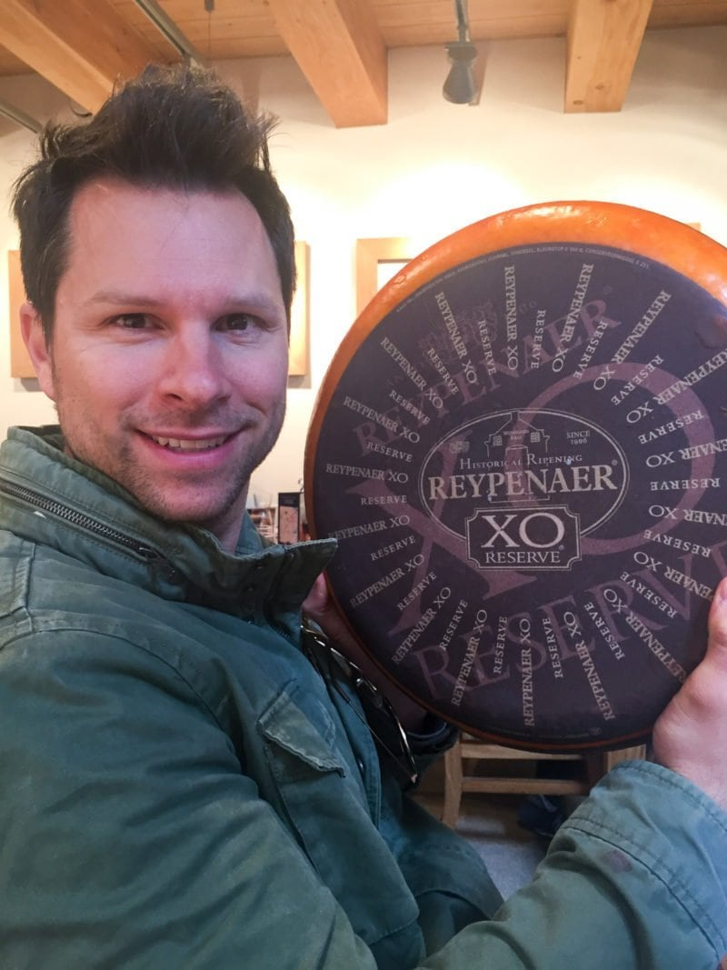 The Reypenaer Cheese Tasting room in Amsterdam is a must visit!