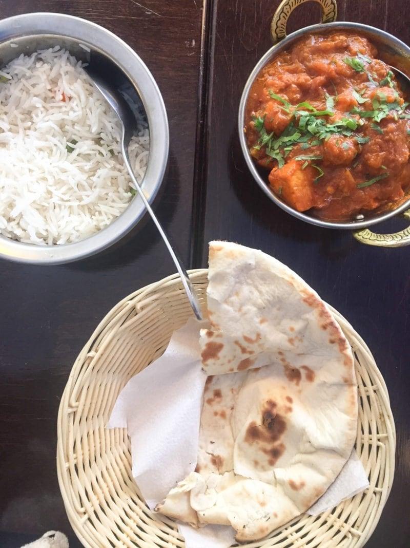 Chicken Tikka Masala at Indian Sky restaurant in Amsterdam