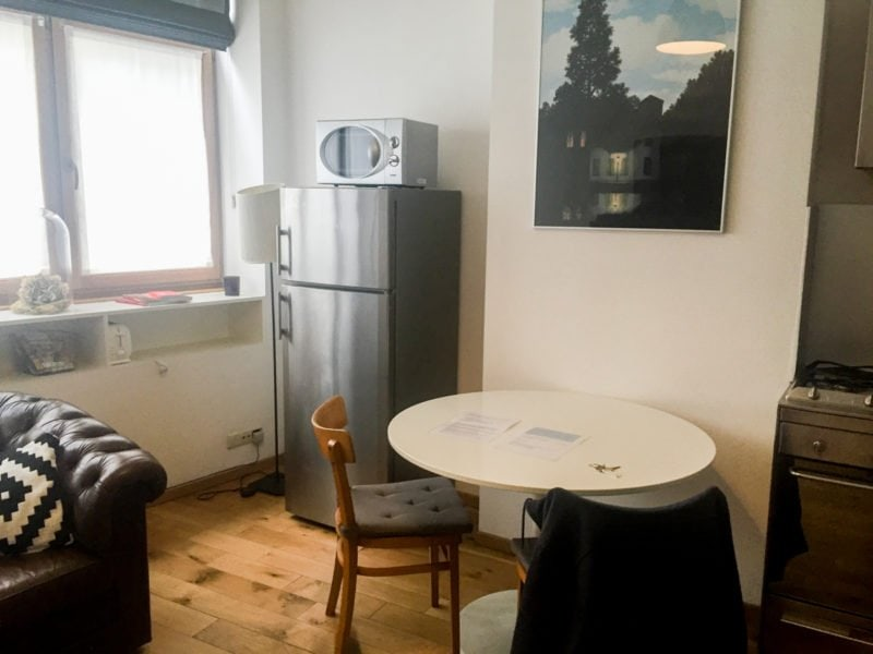 Air BnB rental in Brussels, Belgium