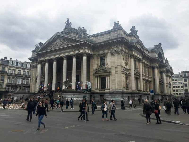 Sightseeing in Brussels, Belgium