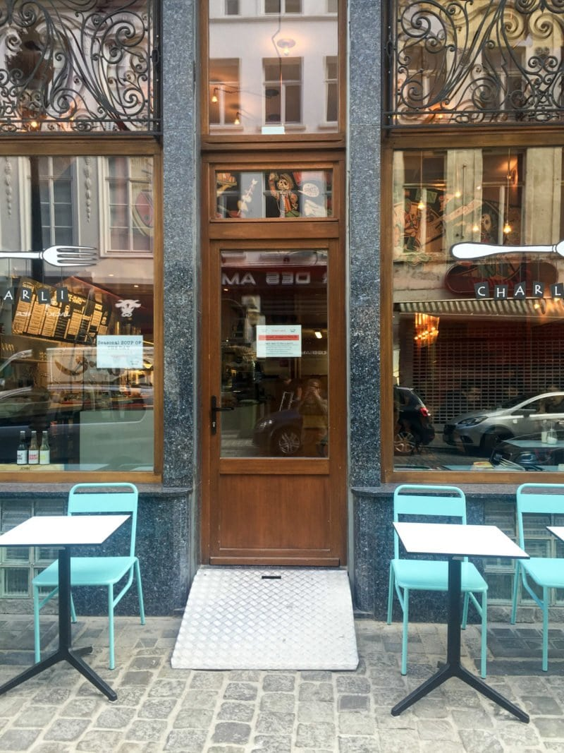 Small boulangerie in Brussels, Belgium