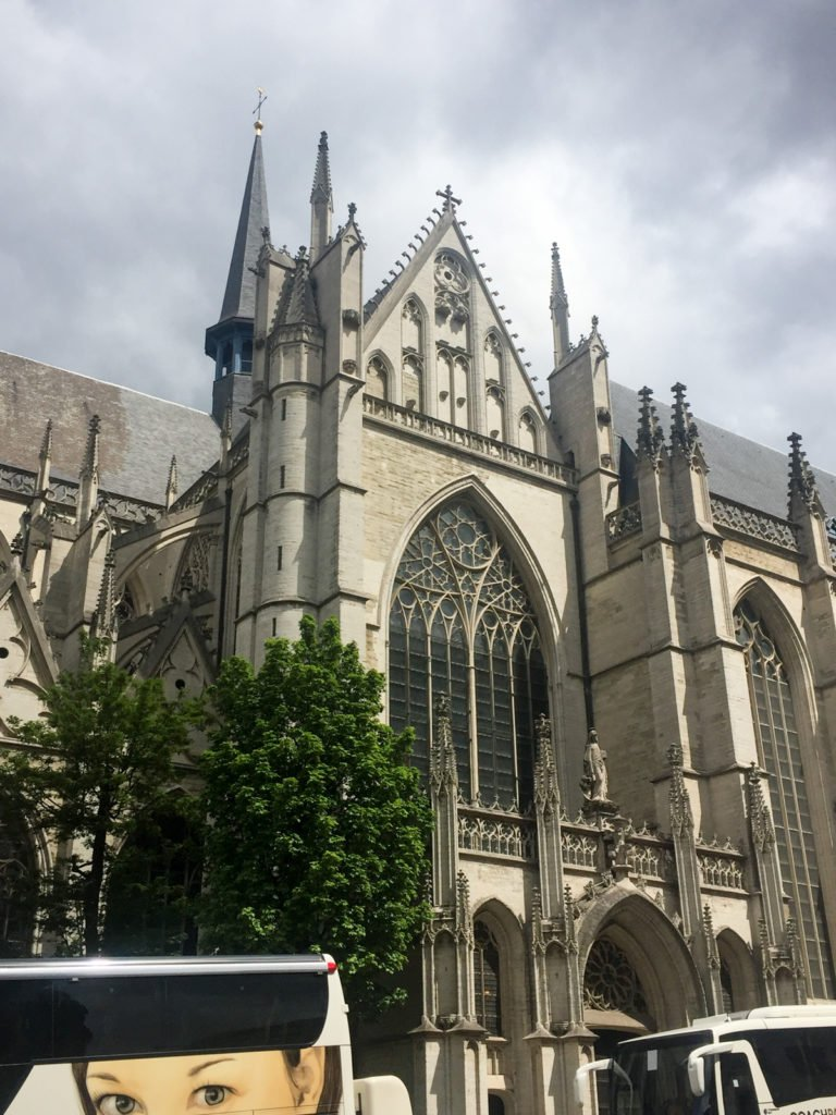 St. Michael's cathedral in Brussels