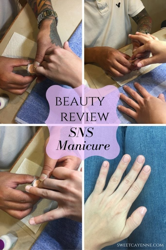 A beauty review of the Signature Nail Service dip powder manicure. Pros, cons, and more!