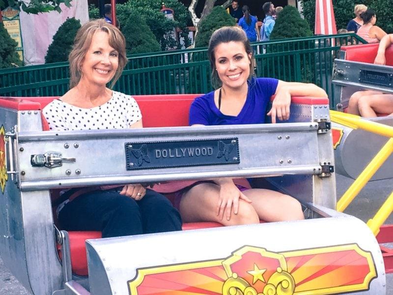 Scrambler ride at Dollywood