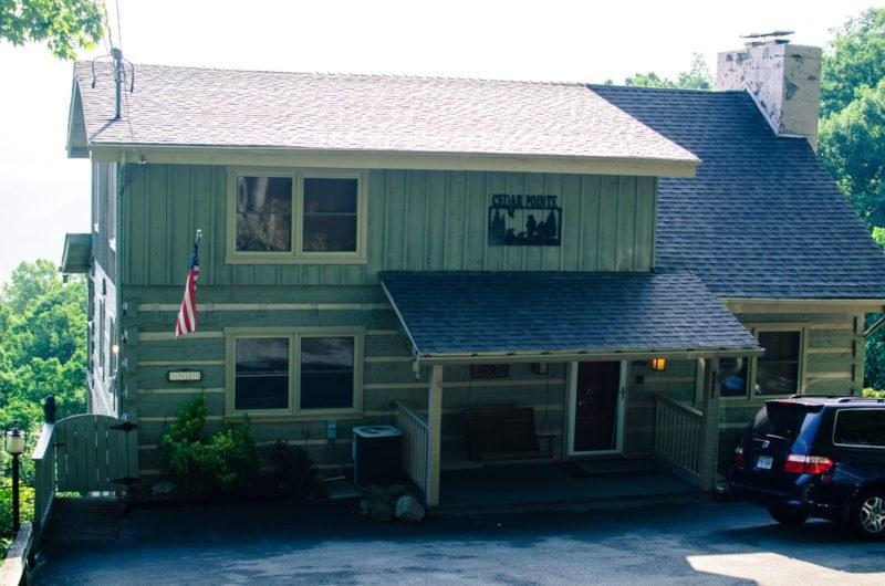 Cedar Point Cabin of Mountain Laurel Chalets in Gatlinburg, TN