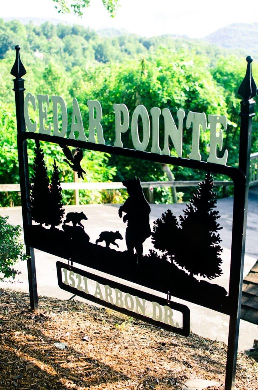 Cedar Point Cabin in Gatlinburg, TN