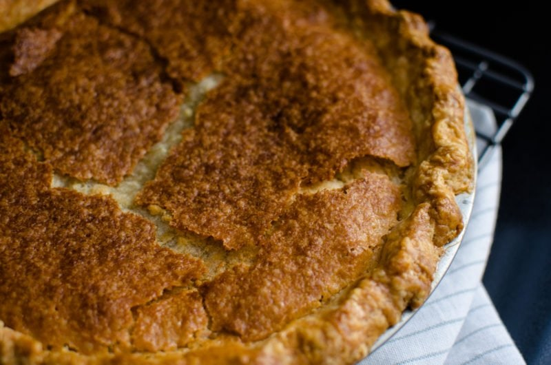 This recipe for old-fashioned buttermilk chess pie is perfect for fall. A Southern favorite!