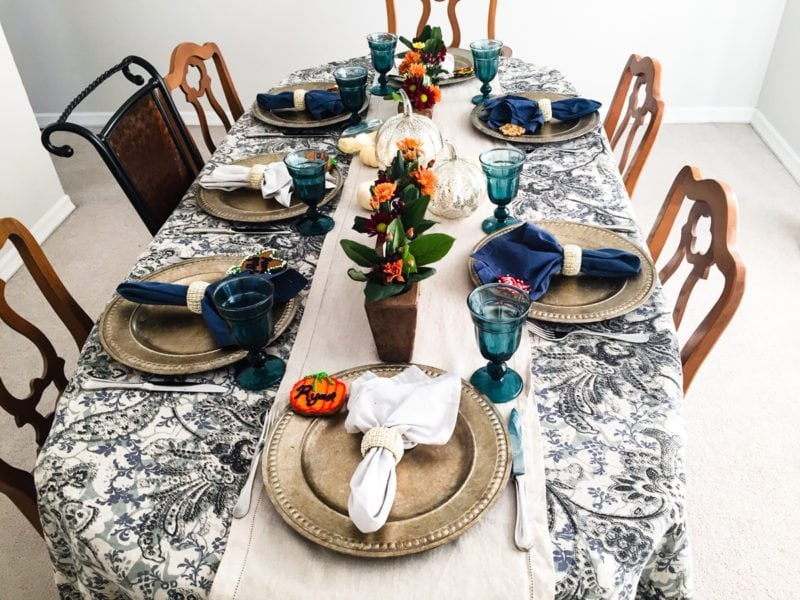 Dining room for Thanksgiving!