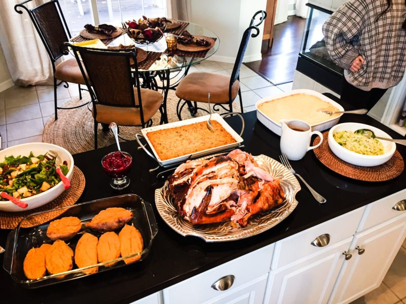 The big Thanksgiving feast!