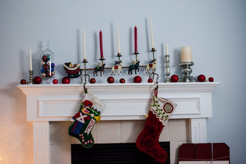 The Santa Sleigh candle holder is a treasured piece my grandmother owned and was passed down to me!