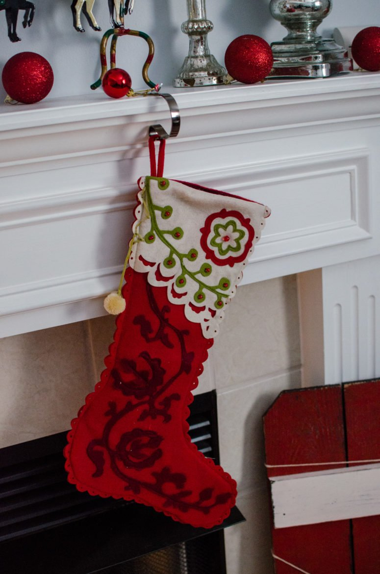 Whitney's stocking
