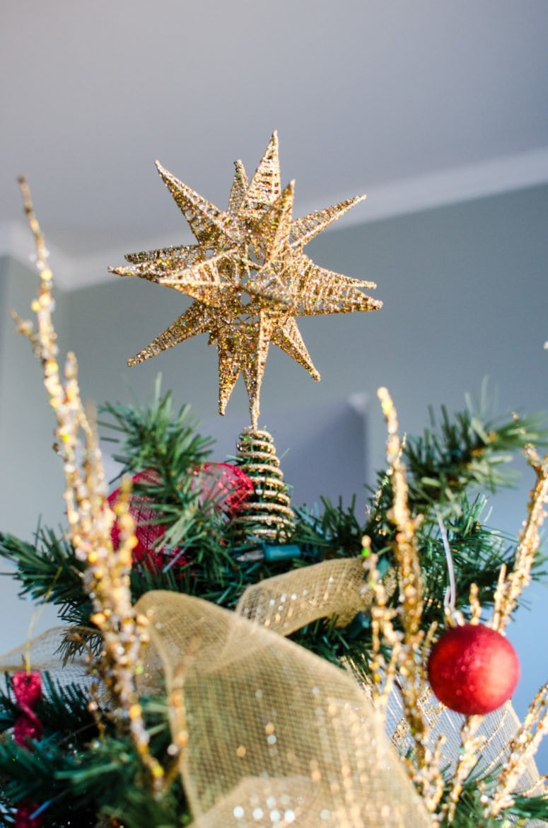 star on christmas tree from hobby lobby - Hobby Lobby Christmas Decorations 2016