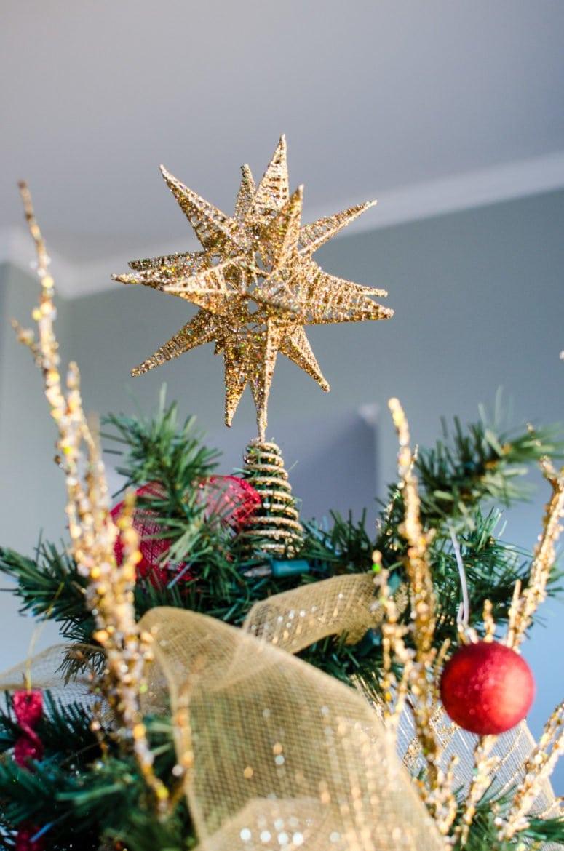 Star on Christmas Tree from Hobby Lobby