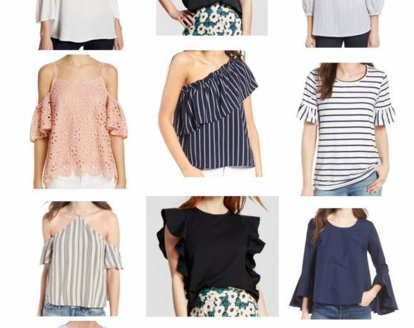 Curated Closet: Trendy Spring Tops + Options Under $50!