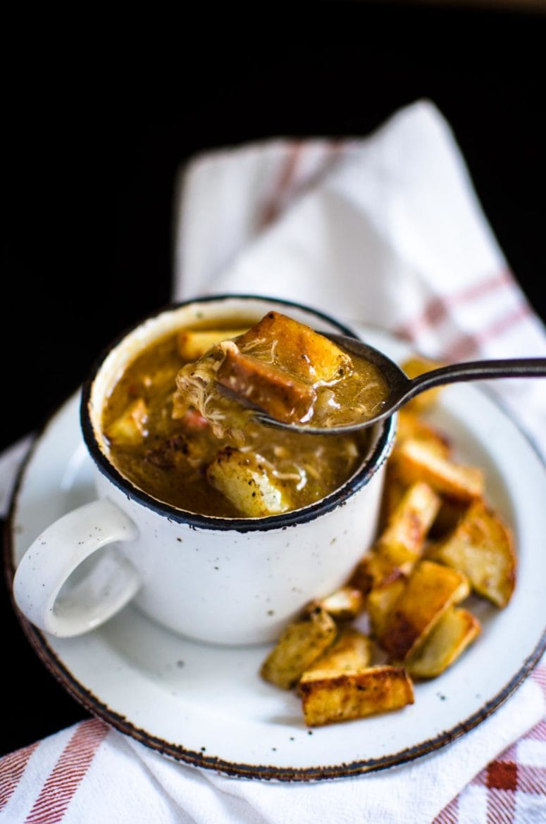 This recipe for Chicken and Sausage Gumbo is the ultimate Cajun-style comfort food. Serve it with the crispiest of roasted potatoes.