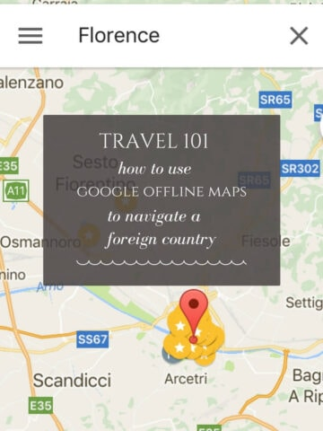 This week I'm excited to share with you a game-changing travel hack: using Google offline maps to navigate a foreign country – without using cellular data!