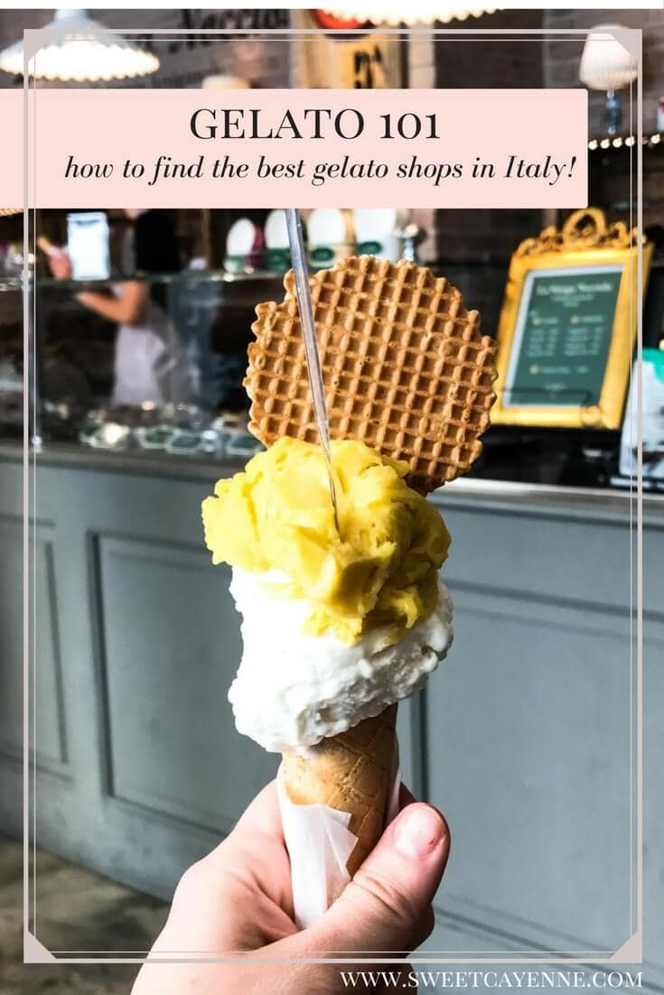 A travel guide to finding the best gelato shops in Italy, including my favorite ones!
