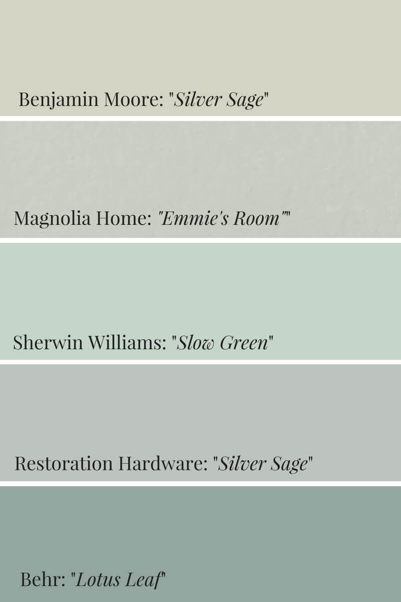 How To Incorporate Pinterest S 2018 Color Sage Green